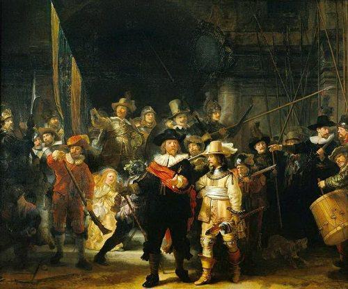 Rembrandt - Night Watch/ Gece Devriyesi