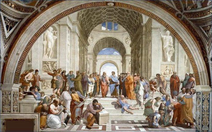 Atina Okulu -Michelangelo ve Raffaello'nun Garip Hikayesi ( 2 )