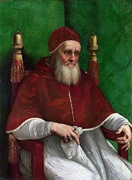 Papa II Julius'un Raffaello Tarafından Yapılan Portresi-Michelangelo ve Raffaello'nun Garip Hikayesi ( 2 )