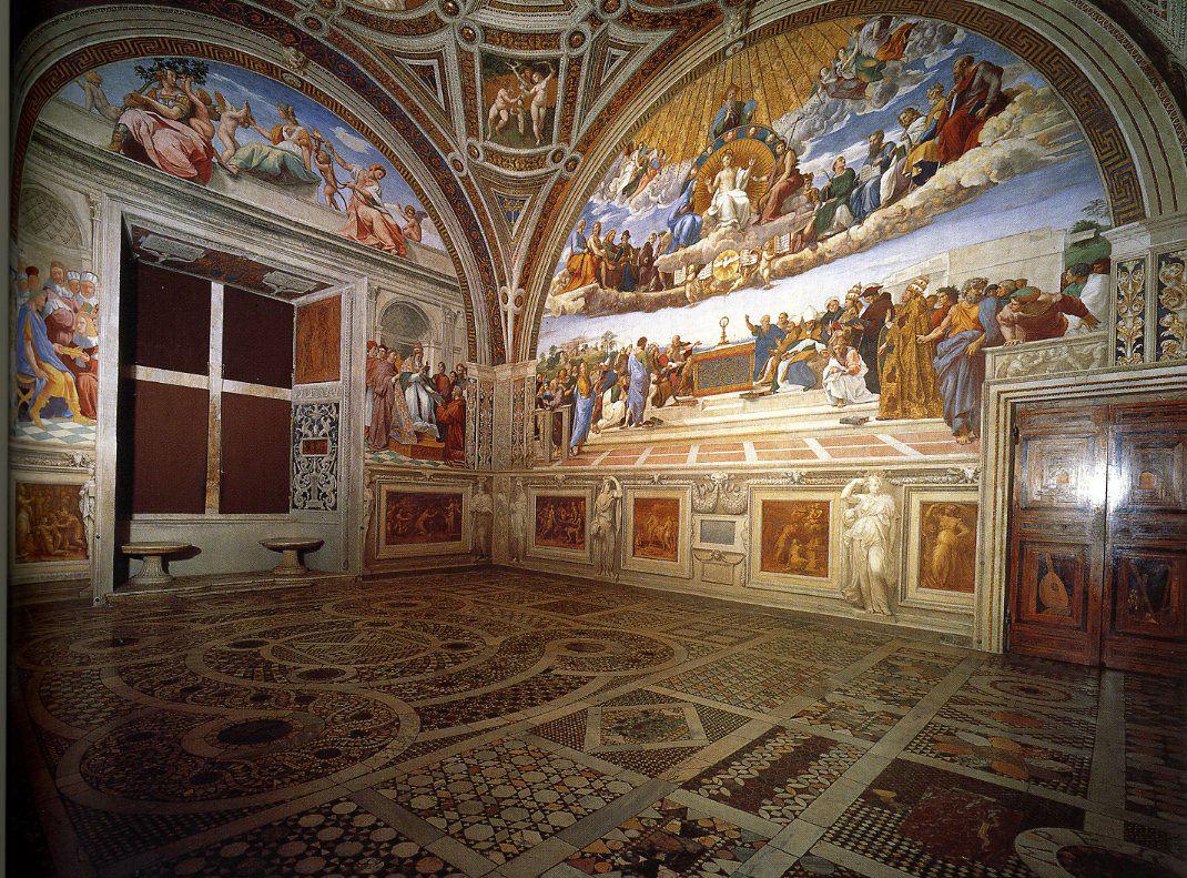 Stanza Della Segnatura - İmza Odası-Michelangelo ve Raffaello'nun Garip Hikayesi ( 2 )