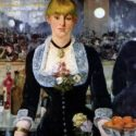 Edouard Manet - A Bar at Folies-Bergere / Folies-Bergere' de Bir Bar