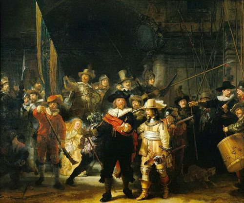 Rembrandt - Night Watch/ Gece Devriyesi