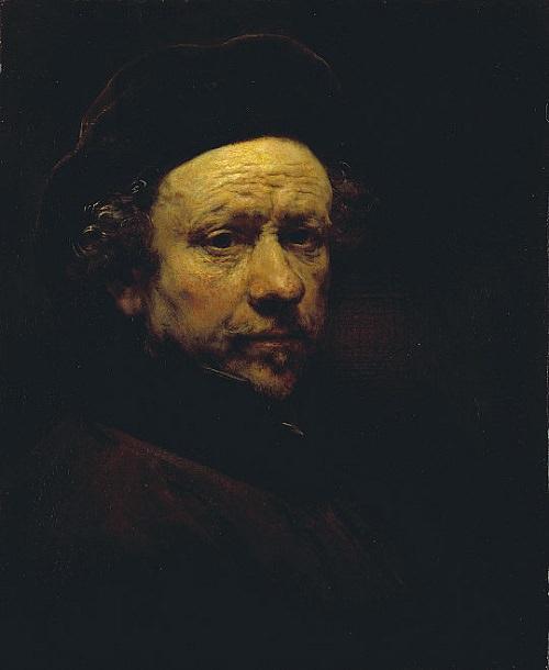 Rembrandt - Aged 51/51 Yaş Tablosu