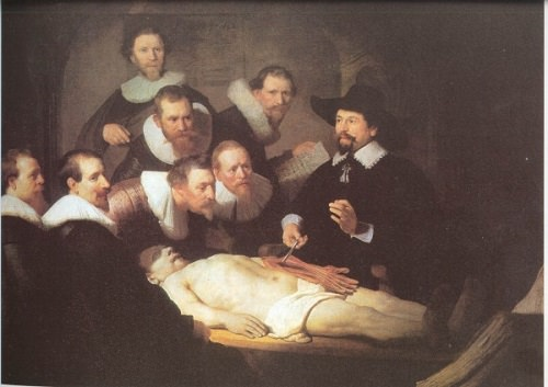 Rembrandt - The Anatomy Lessons of Dr. Tulp / Dr. Tulp 'un Anatomi Dersi'nde