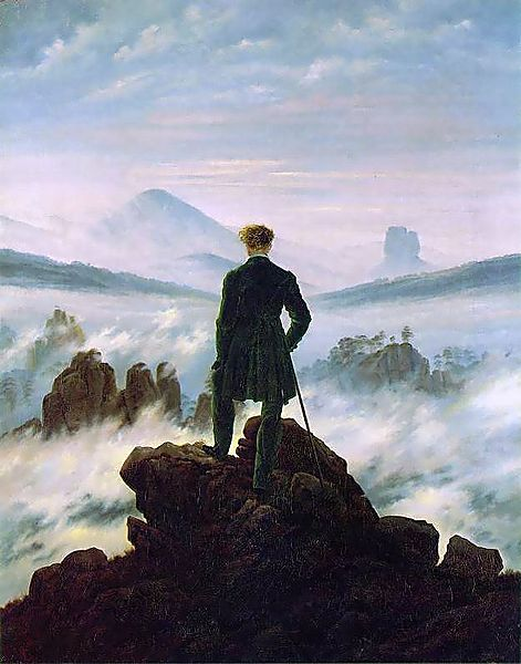 Wanderer Above the Sea of Fog - Caspar David Freidrich | Famous Paintings You Need To See