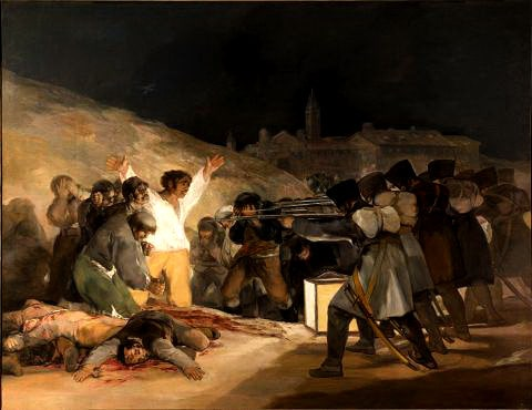 Goya - The Third of May 1808 / Sanat Akımları - Romantizm Sanat Akımı