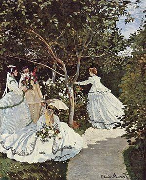 Claude Monet - Bahçede Kadınlar / Claude Monet Kimdir? | Hayatı | Eserleri | Fransız Empresyonist Ressam