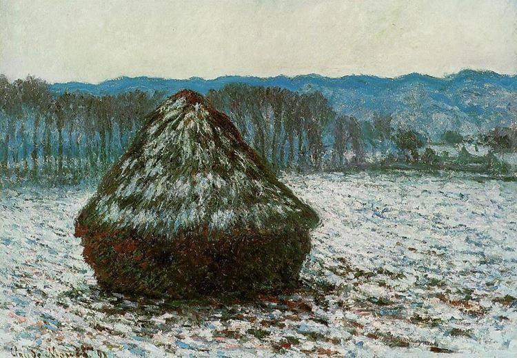 Claude Monet Kimdir? | Hayatı | Eserleri | Fransız Empresyonist Ressam -Samanlar