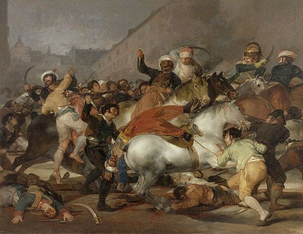 Francisco Goya -2 Mayıs 1808