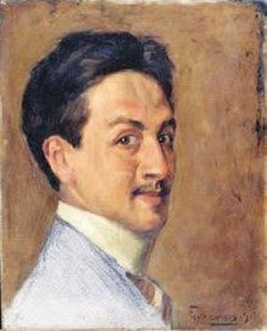 Feyhaman Duran - Otoportre, 1911