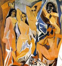 Picasso - Avignonlu Kadınlar | Görülmesi Gereken 6 Olağanüstü Tablo