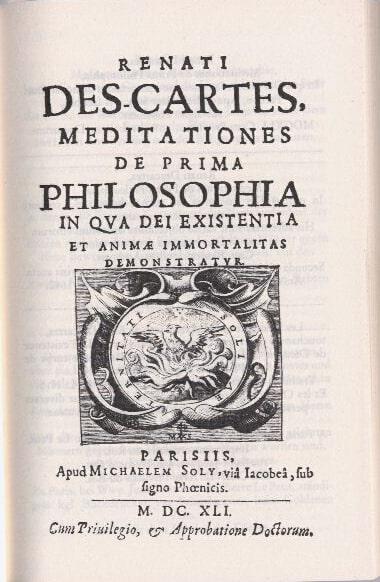 Rene Descartes - Meditasyonlar