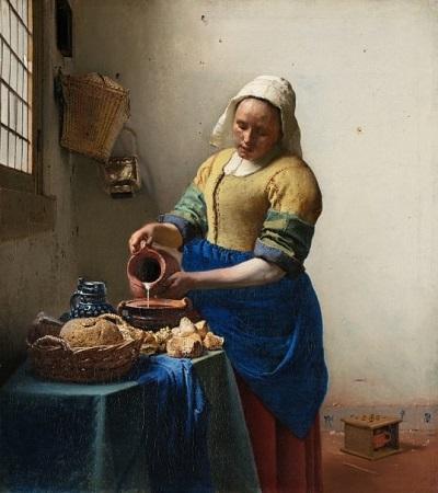Sütçü Kız - Johannes Vermeer