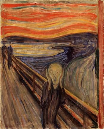 The Scream -Çığlık / Edvard Munch