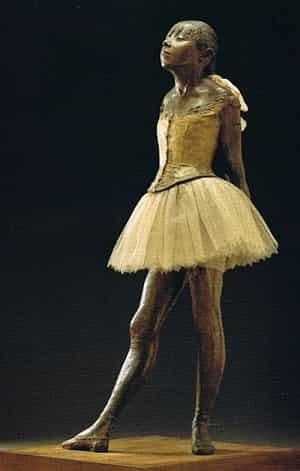 Degas - On Dört Yaşından Küçük Dansçı