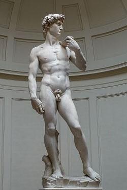 Michelangelo - Davut Heykeli