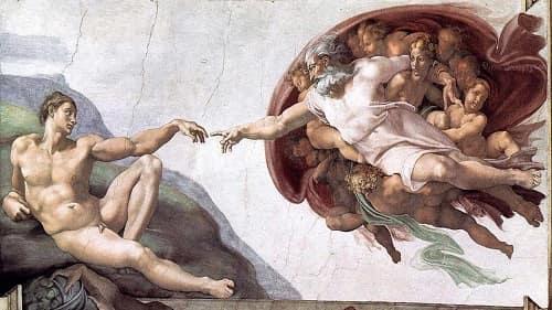 Rönesans Dönemine Ait Bilmeniz Gereken Eserler - Adem'in Yaratılışı - The Creation Of Adam
