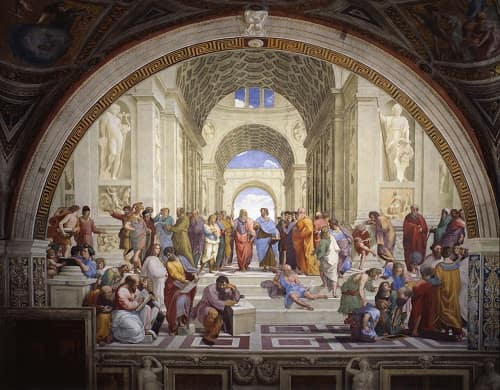 5 Of The Famous Masterpieces of The Renaissance | The School Of Athens, 1510 by Raffaello Sanzio