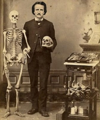 The father of dark fiction, Edgar Allan Poe