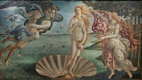 5 Of The Famous Masterpieces of The Renaissance | The Birth of Venus, 1485 by Botticelli