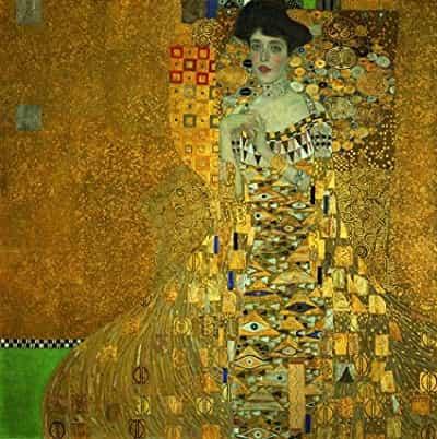 Portrait of Adele BIoch-Bauer/ Adele Bloch-Bauer 'in Portresi
