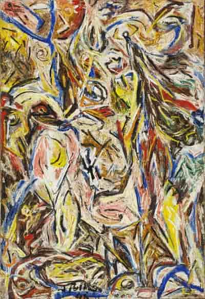 Something of the Past - Jackson Pollock