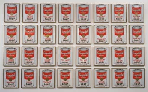 Warhol Soup Cans - Andy Warhol