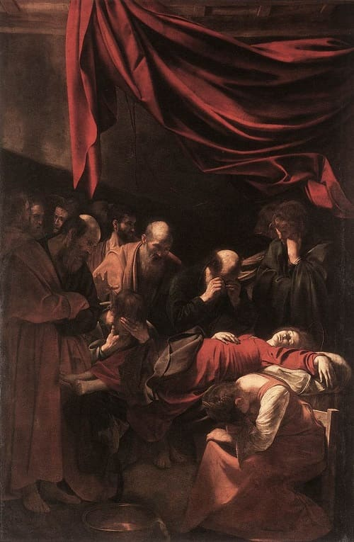 he Death Of The Virgin-Caravaggio