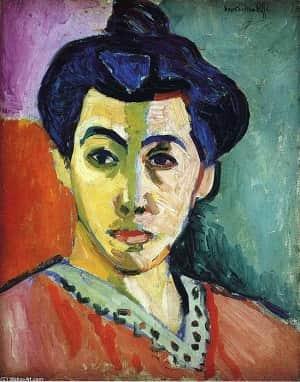 Henri Matisse Portrait of Madame Matisse Green