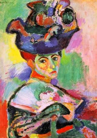 Femme Au Chapeau - 1905