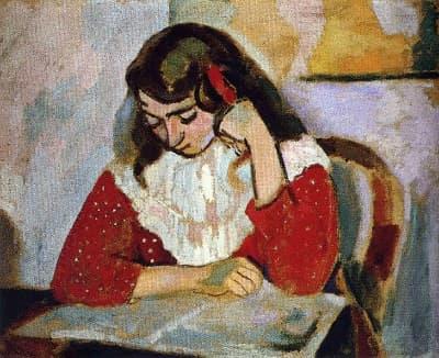 The Reader - 1906 (Kızı Marguerite Matisse)