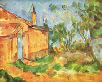 Paul Cezanne and Landscape Paintings