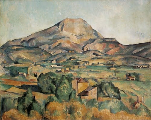 Paul Cezanne Landscape Paintings
