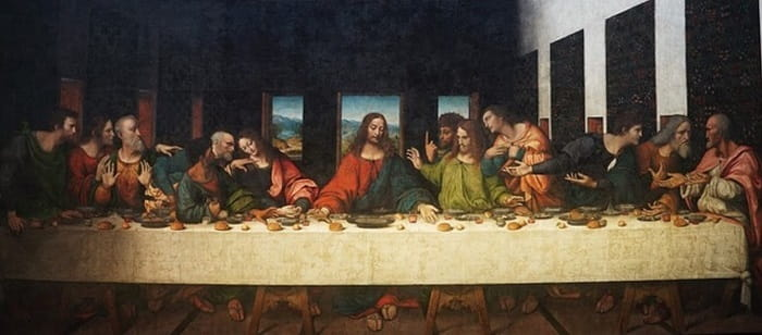 The Last Supper, 1495-1498 by Leonardo da Vinci | 8 Things You Need To Know About Da Vinci 's The Last Supper