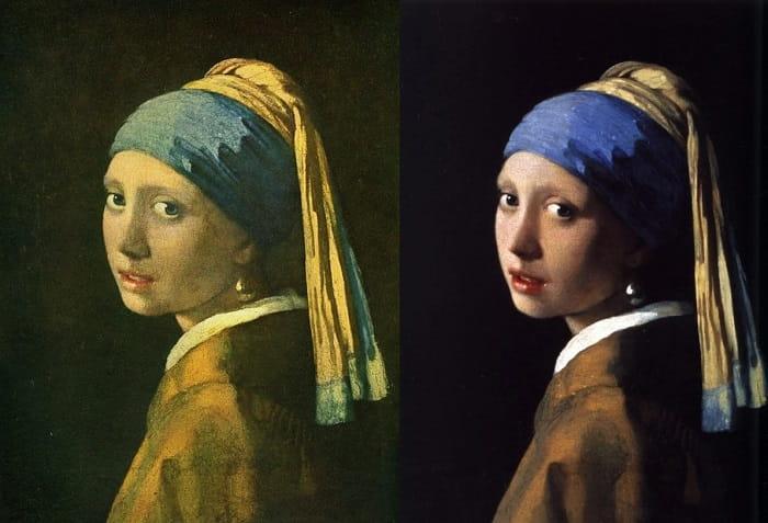Johannes Vermeer İnci Küpeli Kız