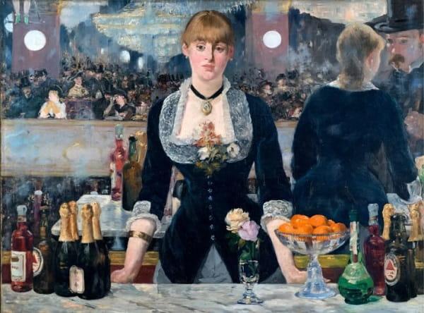 Manet Folies Bergère'de Bir Bar